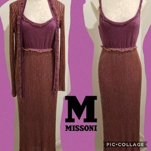 Missoni evening dress and jacket
